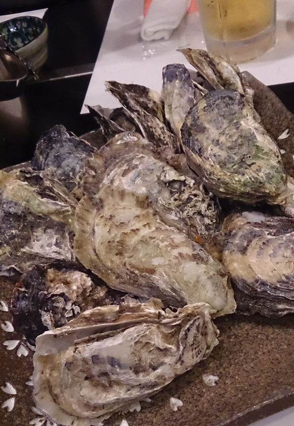 お雛祭りは牡蠣尽くし