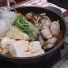 寒い日、だから牡蠣鍋牡蠣鍋!