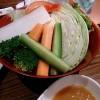 かぶりつき野菜が豪快でした